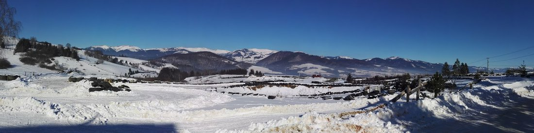Tohto roku nás potešilo krásne zimné počasie - Stretko - preteky - ľadových medveďov 2017, Brezno