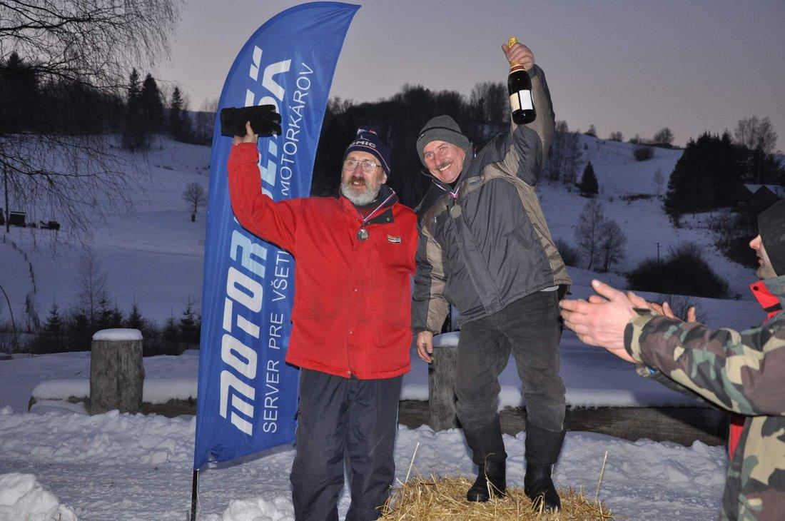 Víťazi Pioniere - Stretko - preteky ľadových medveďov 21. - 22. 1. 2017, Brezno