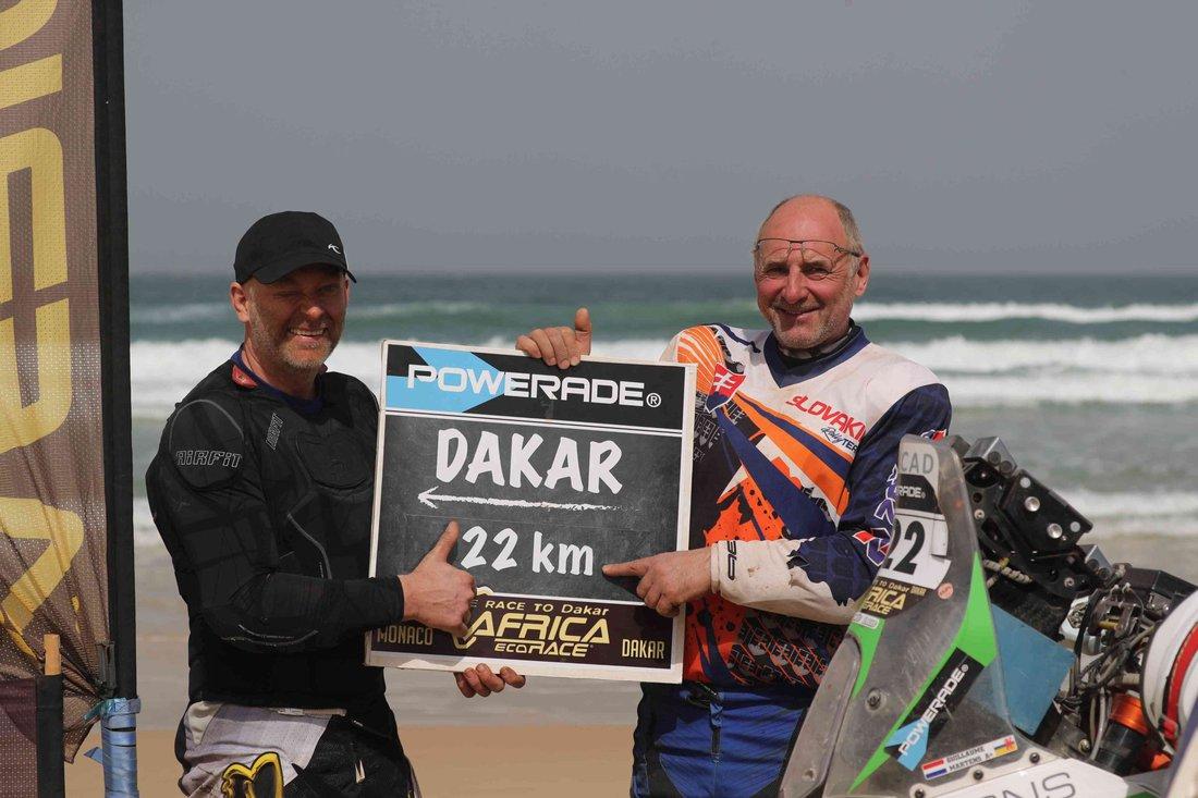 Martin Benko a Ján Zaťko - Eco Race 2017