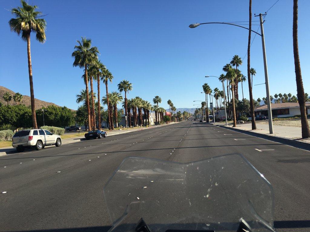 Jednosmerka v Palm Springs