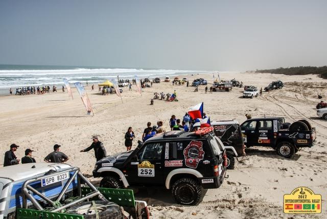 Intercontinental Rally 2017 - 14. etapa -  Lac Rose, Dakar
