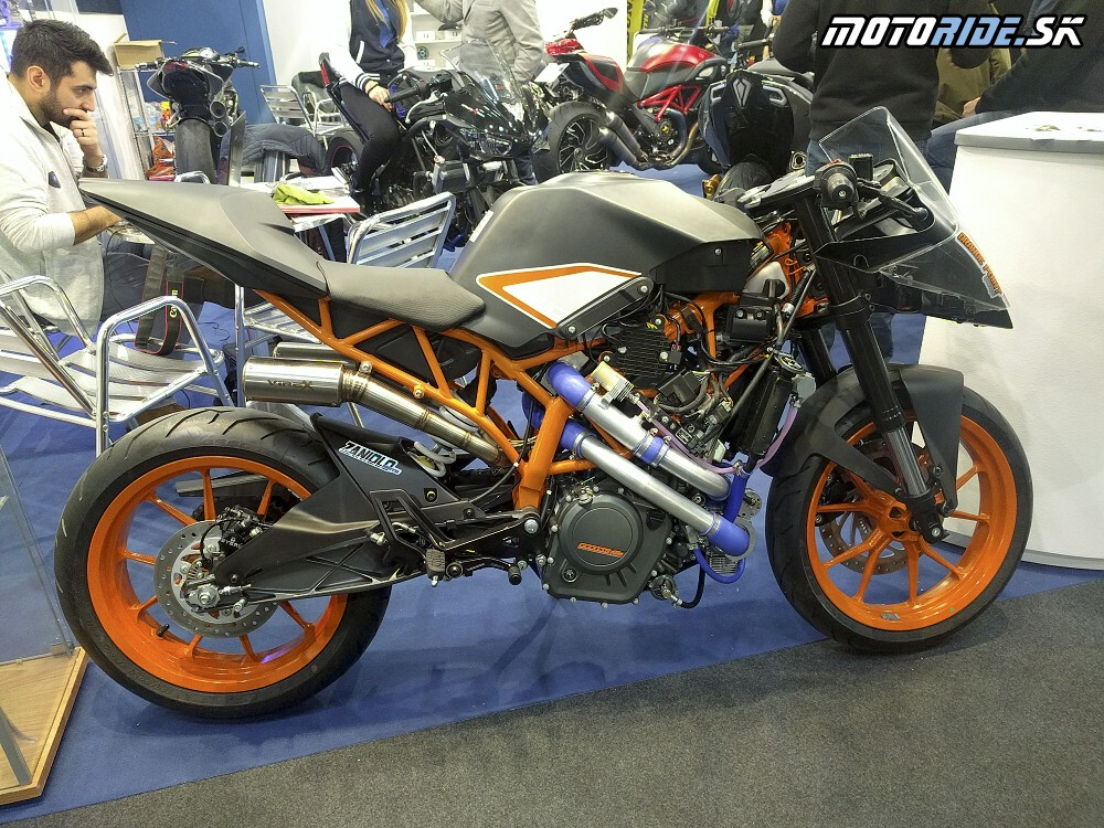 Turbo KTM  - Motor Bike Show Verona 2017