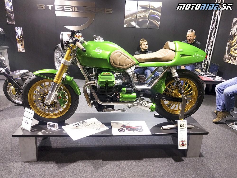 Najkrašia guzina na výstave  - Motor Bike Show Verona 2017