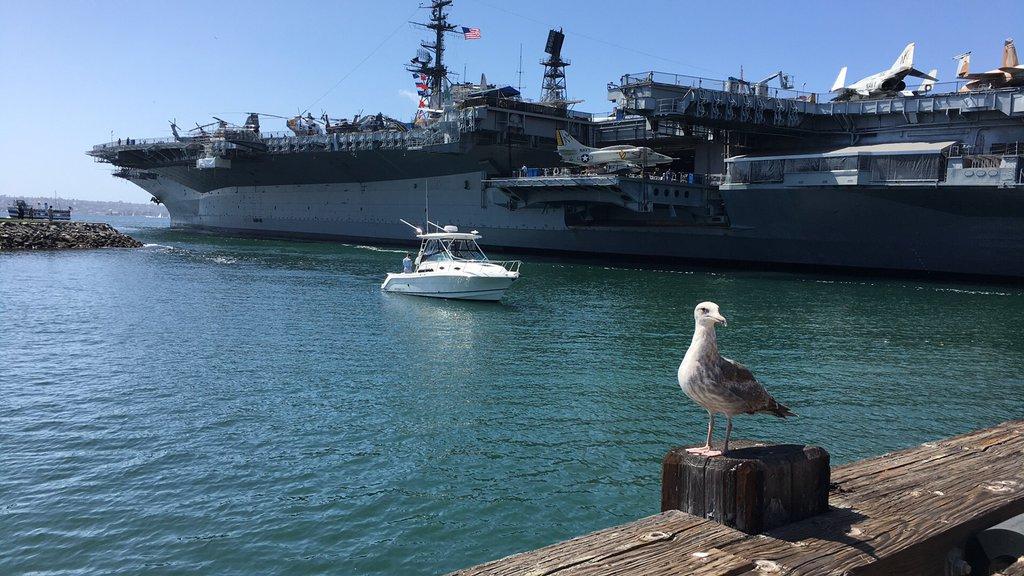 USS Midway, zákutie.