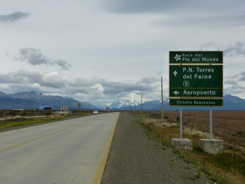 Cesta k Torres del Paine