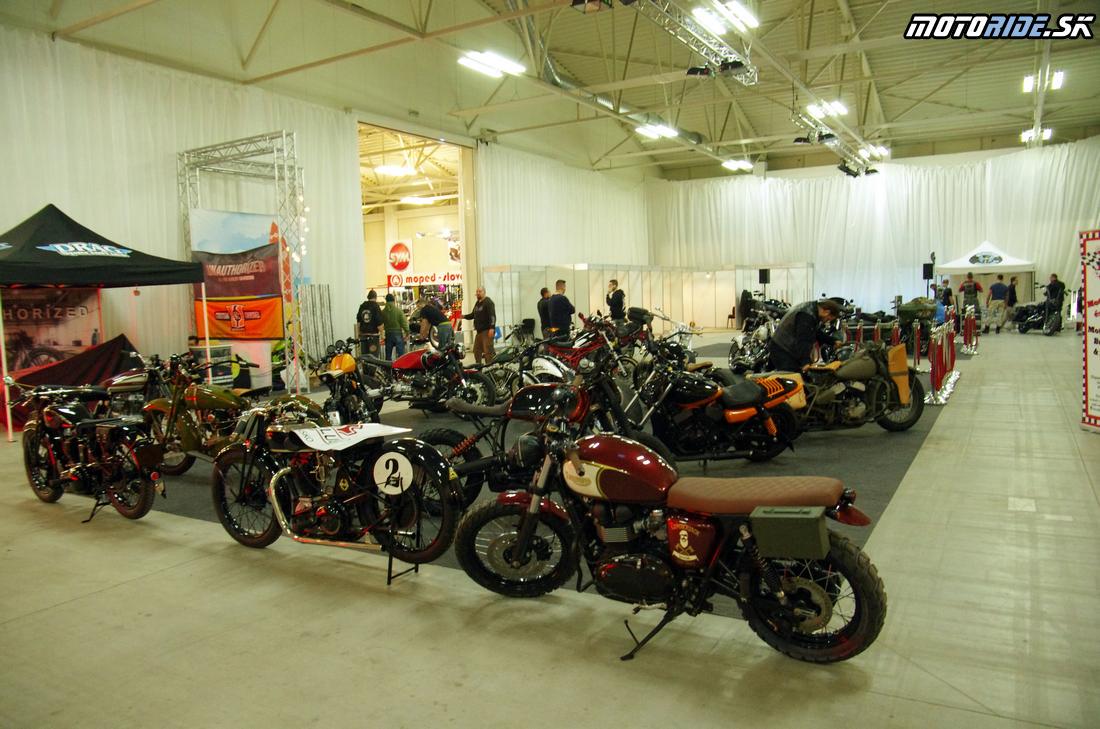 Customs - Výstava Motocykel 2017 - 106 fotiek ešte pred otvorením