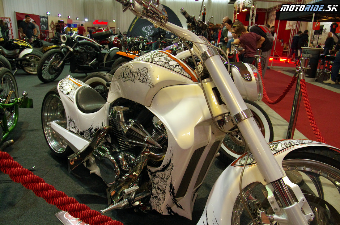 Výstava Motocykel 2017, Incheba, Bratislava