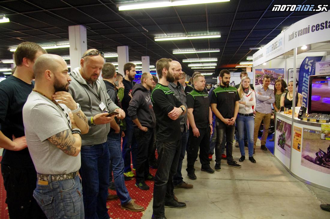 Vyhodnotenie ankiet Motoshop a Cestopis roka 2016, Výstava Motocykel 2017, Bratislava