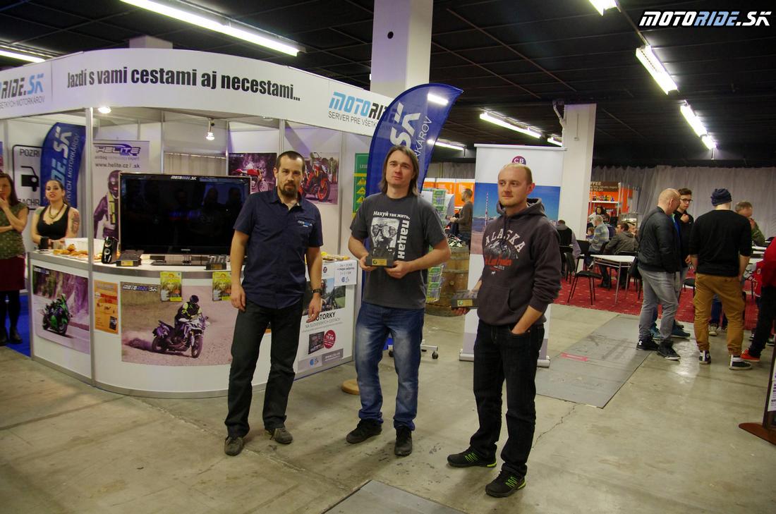 Cestopis roka 2016 - 2. miesto - NostalgicRider - Výstava Motocykel 2017, Bratislava