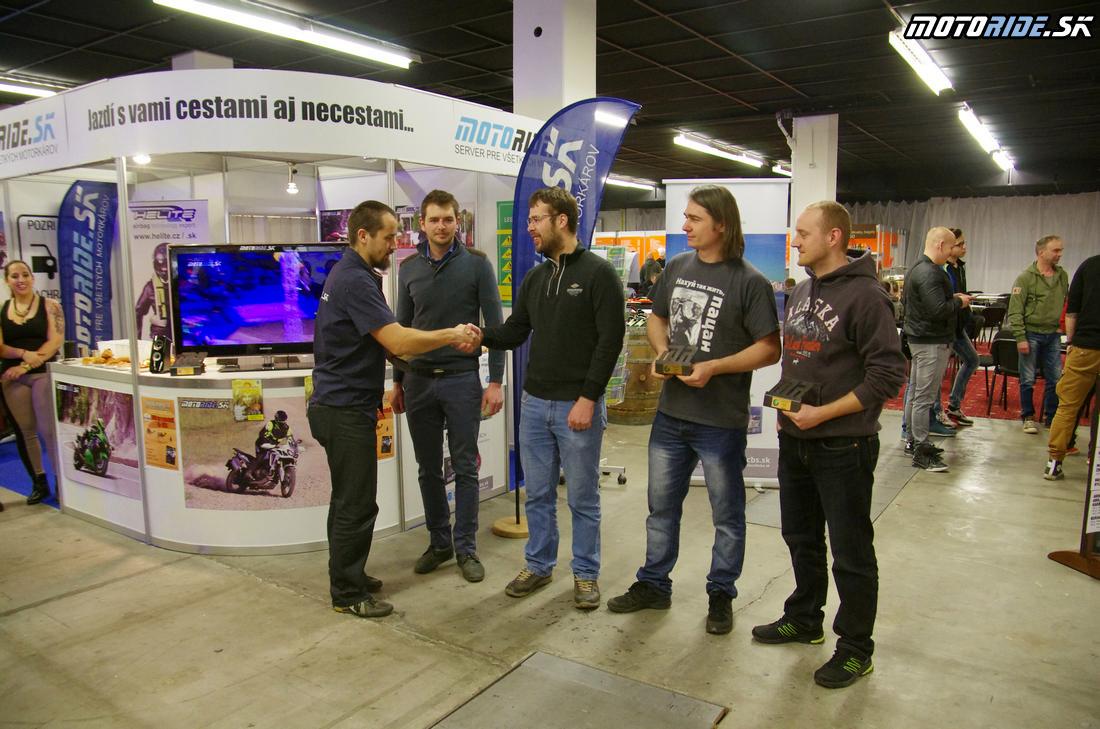 Cestopis roka 2016 - 1. miesto - Roman Kudroň a Miloš Vrábel - Výstava Motocykel 2017, Bratislava