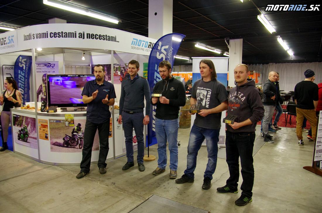 Cestopis roka 2016 - víťazi - Výstava Motocykel 2017, Bratislava