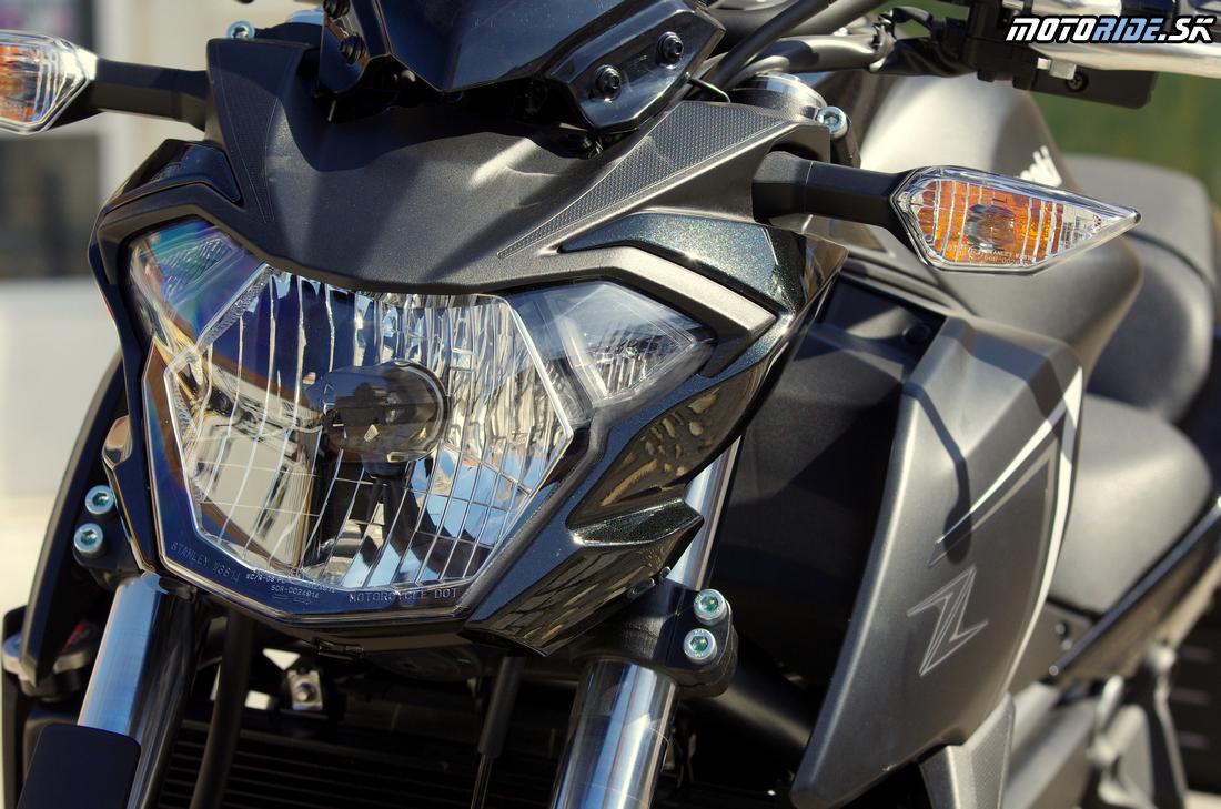 Nový svetlomet - Kawasaki Z650 2017