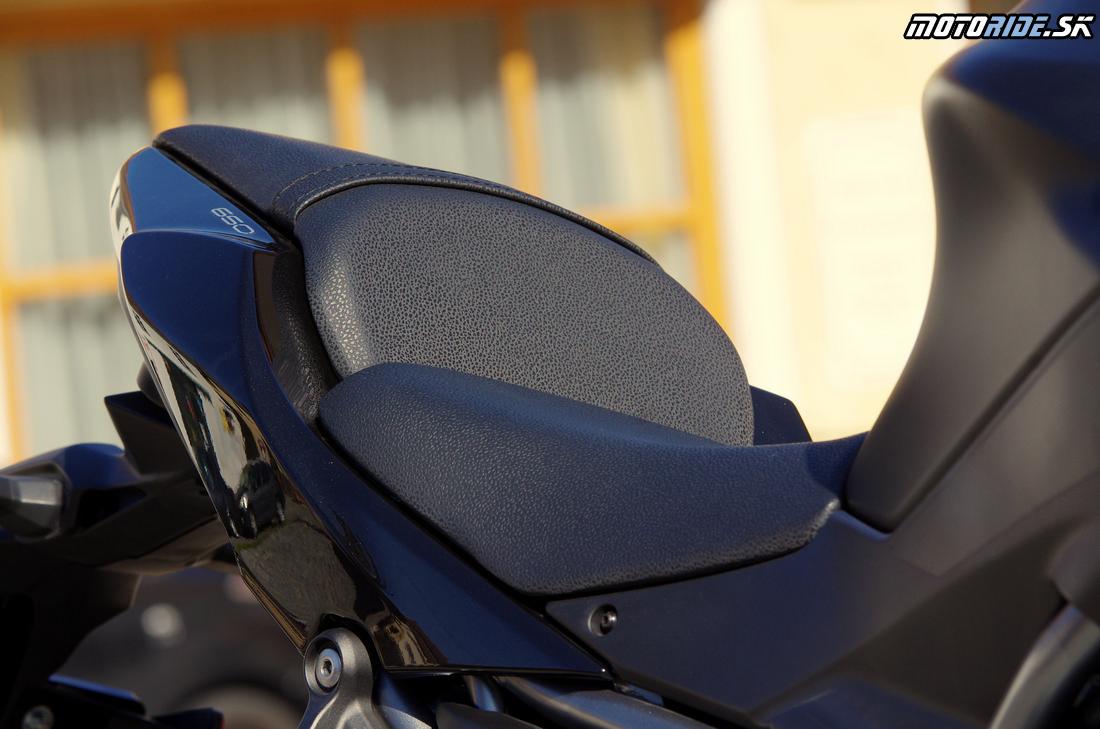 Nižšie sedlo (len 790 mm) - Kawasaki Z650 2017