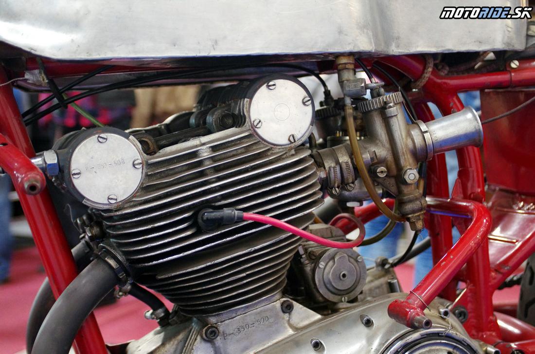Jawa 350 2xOHC 1959 - cestný pretekársky špeciál