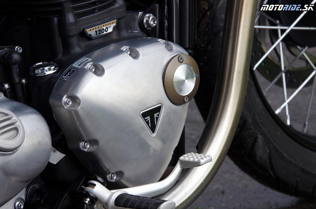 Premakané detajly - Triumph Bonneville Bobber 2017