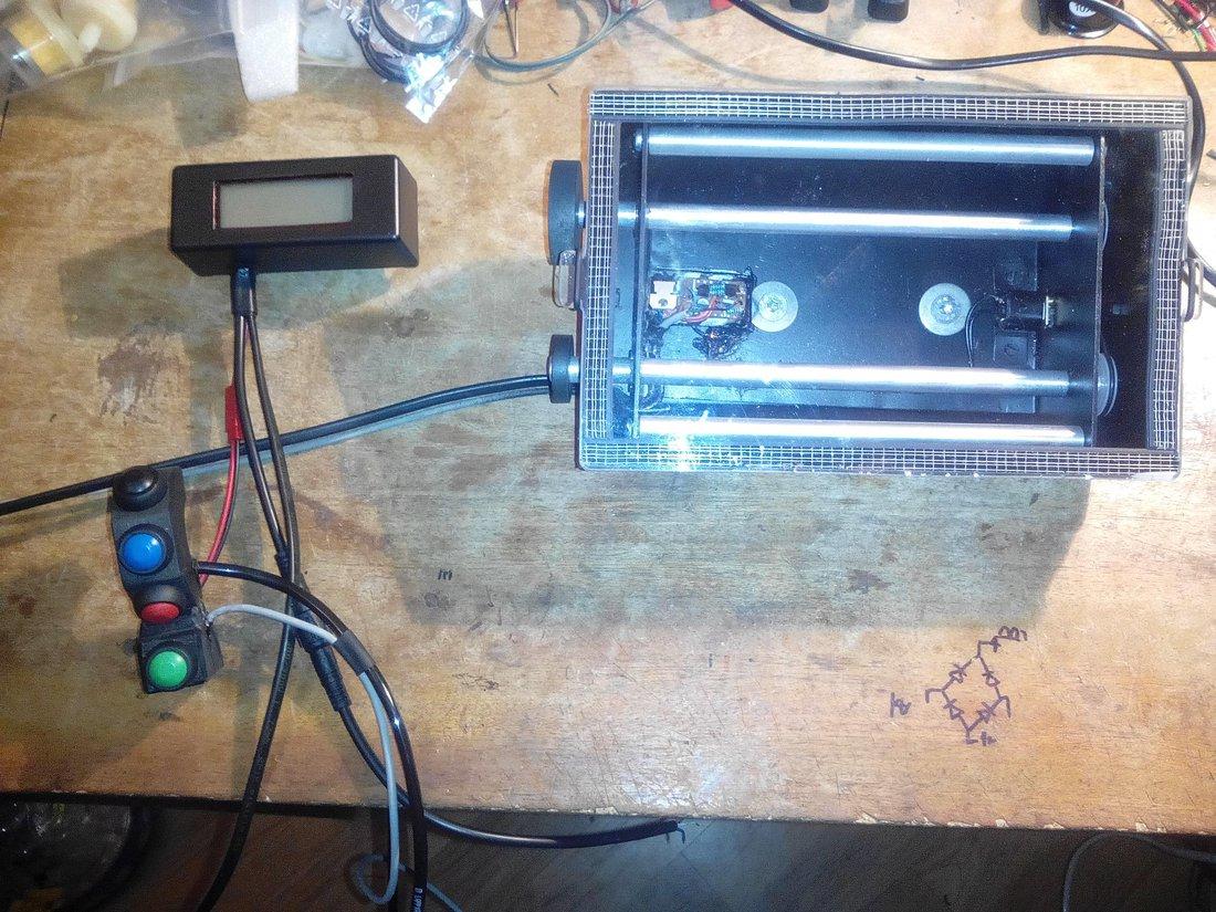 Ešte to skompletovať - Roadbook a Arduino tripmaster
