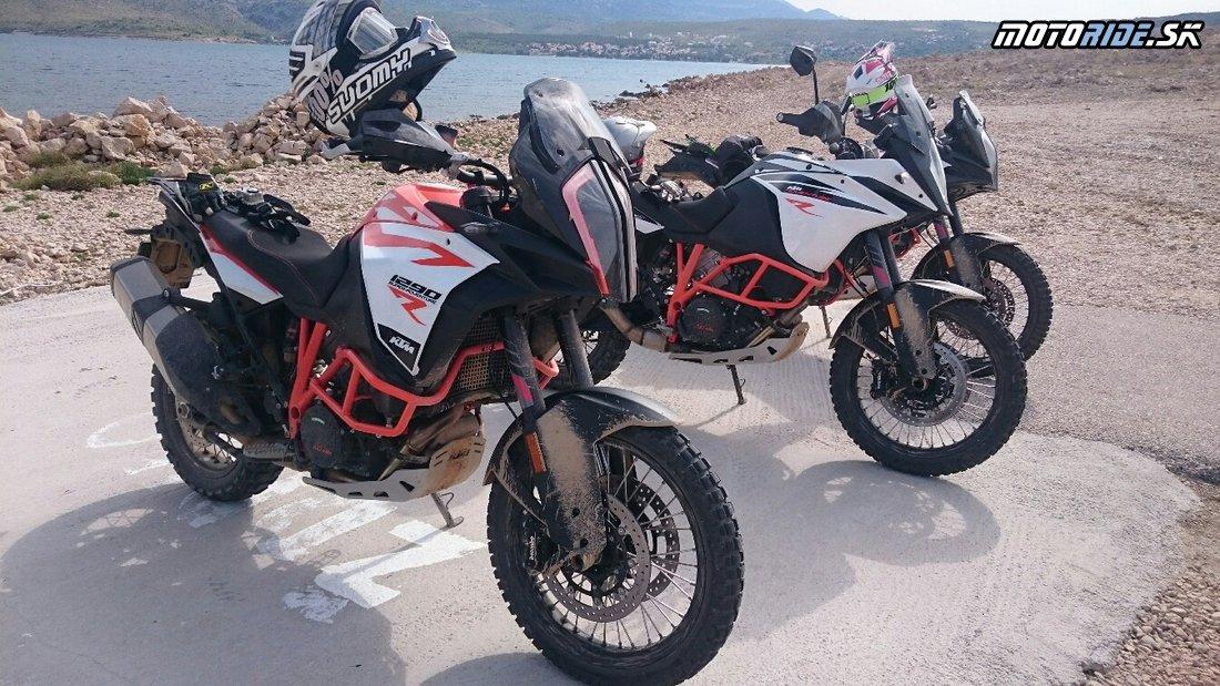 V okolí Zadaru testujeme erkové KTM 1090 a 1290 adventúry