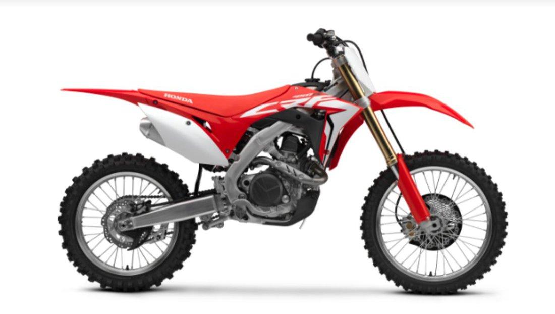 Honda inovuje motokrosovú aj endurovú CRF450, pridáva im štartér