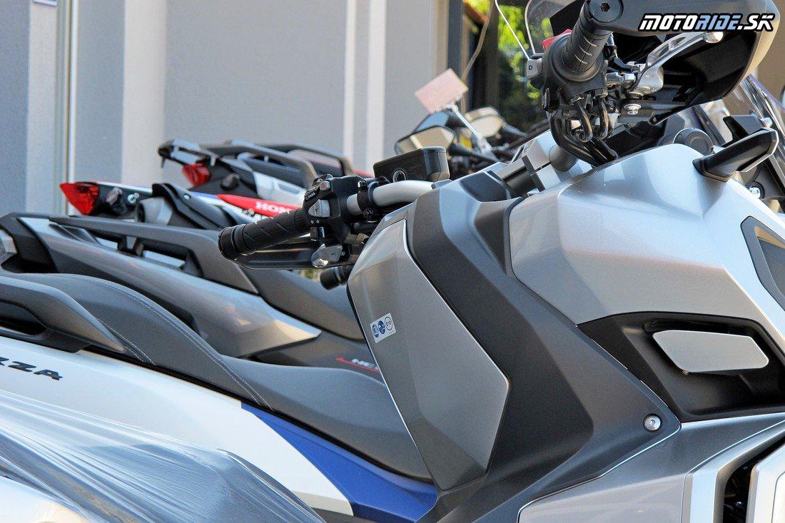 Navštívili sme čerstvo otvorenú predajňu Styx v Nitre - na veľkej ploche ponúka nové motocykle Honda