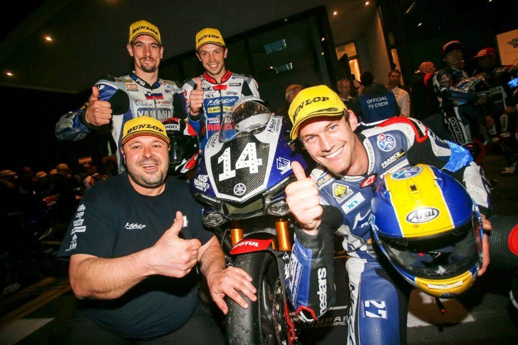 Yamaha Maco Racing Team v Oscherslebene tretí!