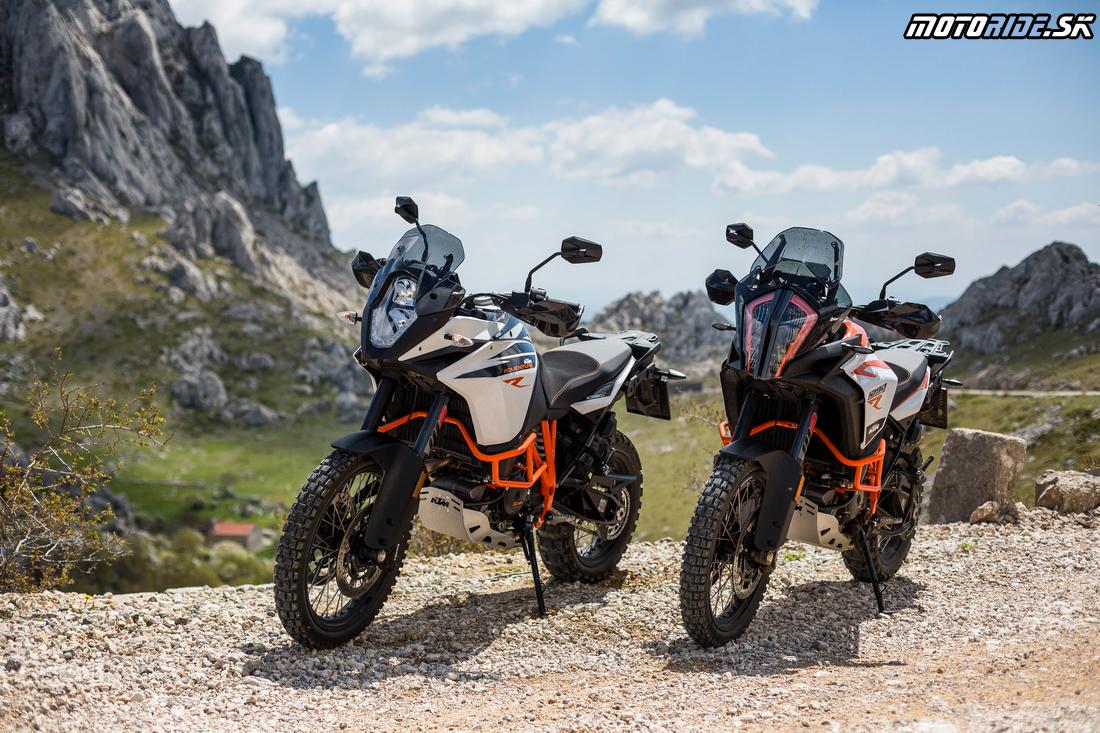 KTM 1090 a 1290 (Super) Adventure R 2017 - Balkánska testovačka, Chorvátsko
