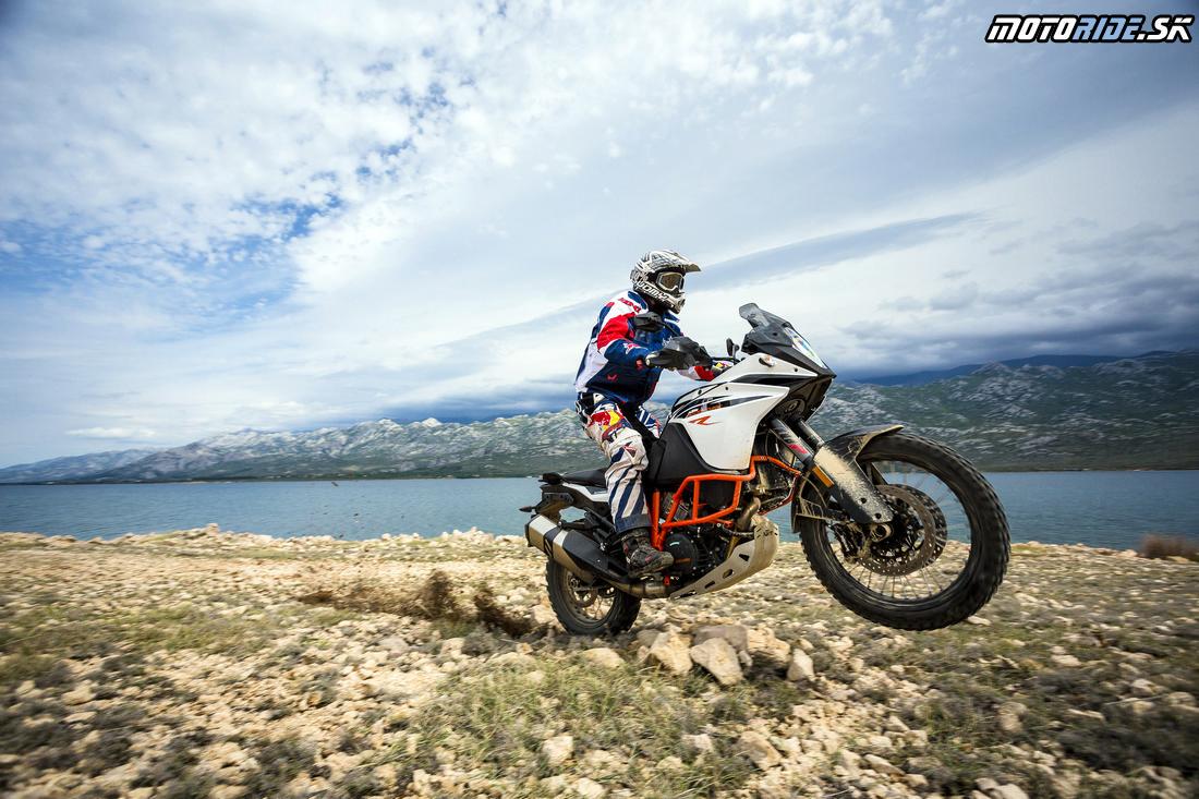 Hop cez kameňe - KTM 1090 Adventure R 2017 - Balkánska testovačka, Chorvátsko (Awia)