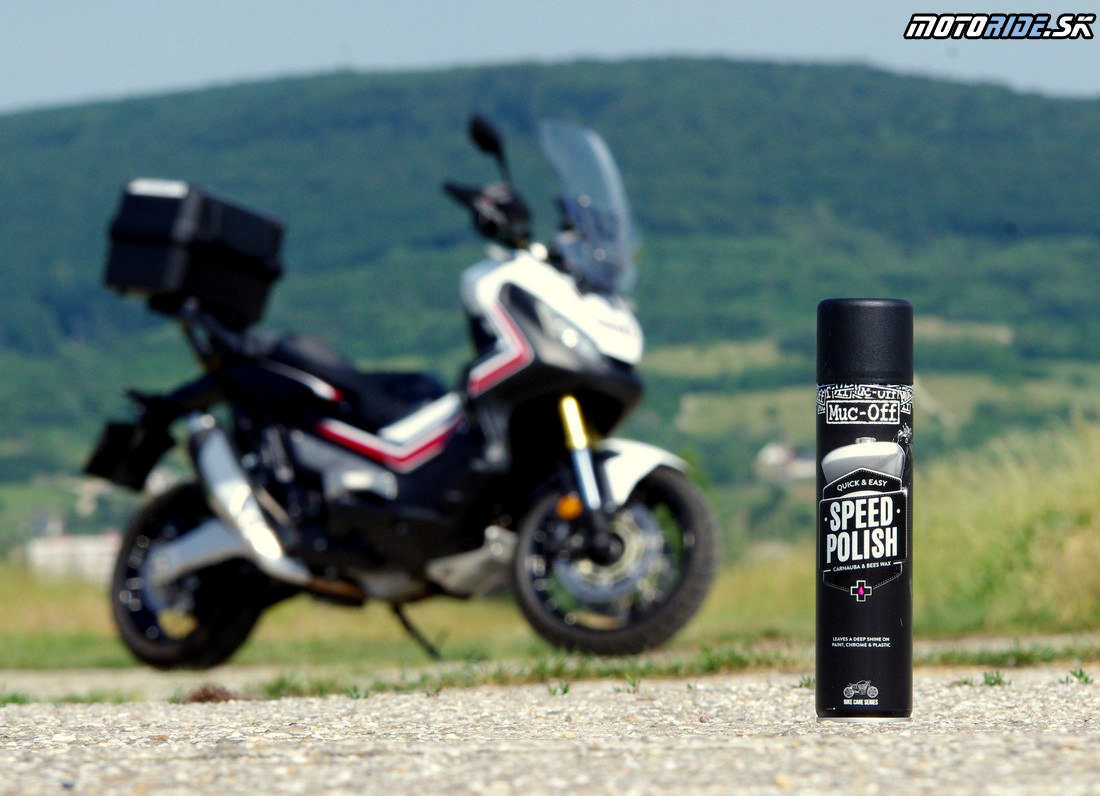 Testovačky odteraz ošetrujeme motokozmetikou Muc-Off