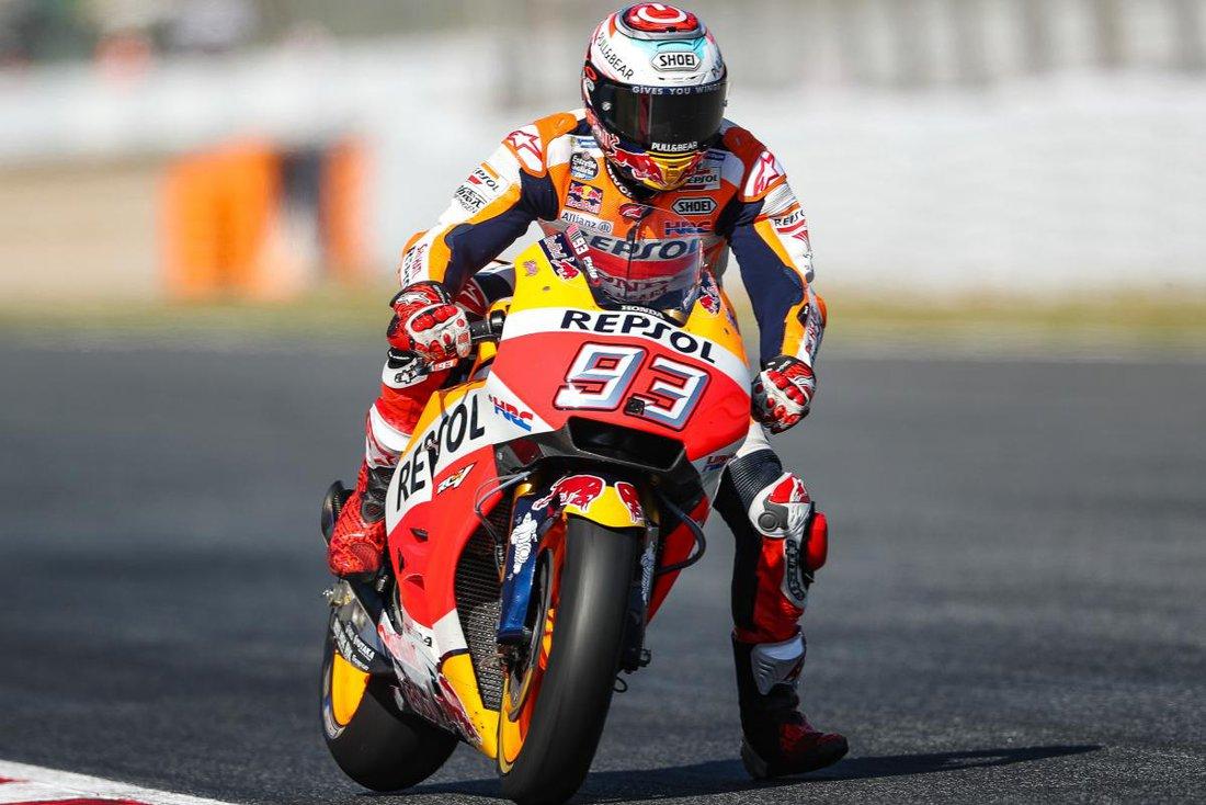 MotoGP 2017 - VC Katalánska - Dovizioso dal dole domácich Španielov