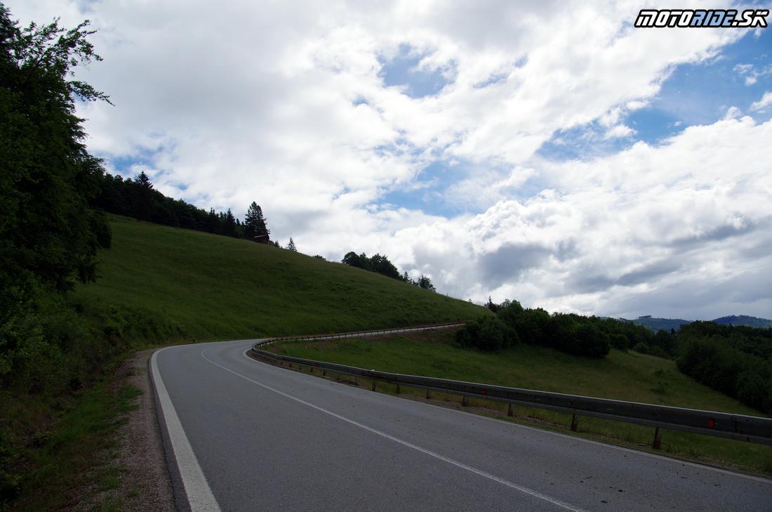 Dobšinský kopec - Jazda za zosnulých motorkárov 2017