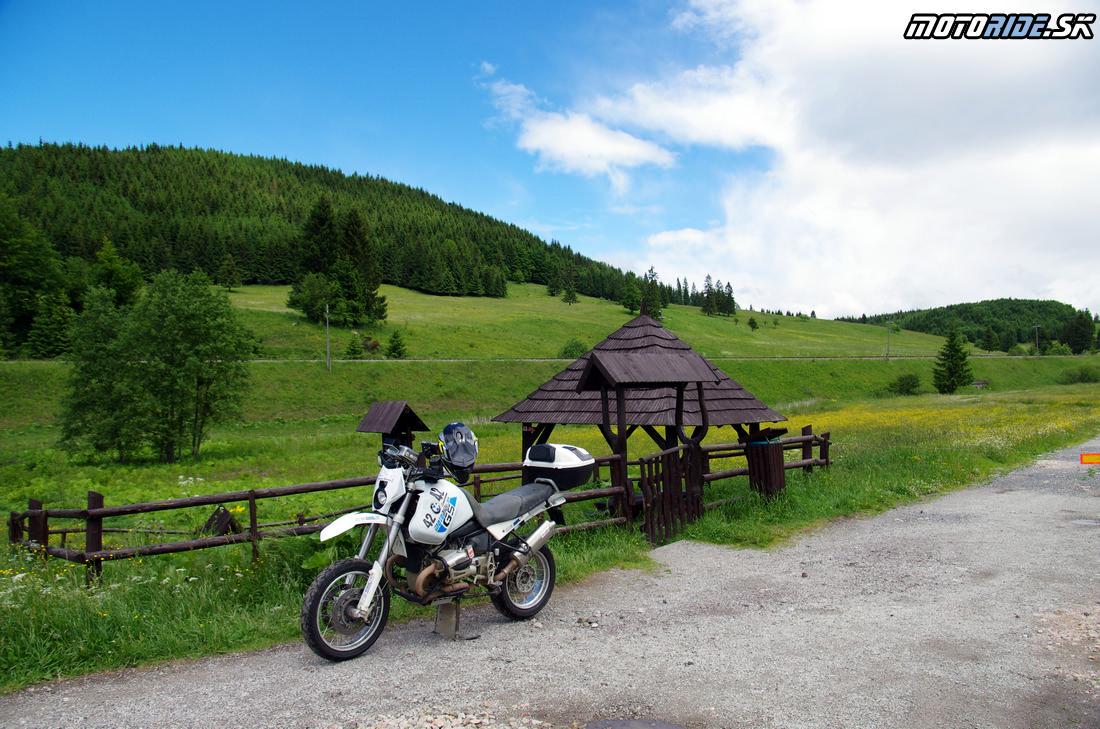 Prameň Hrona - Jazda za zosnulých motorkárov 2017