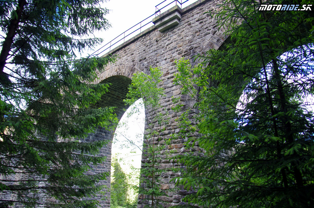 Telgárt - Chramošský viadukt - Jazda za zosnulých motorkárov 2017
