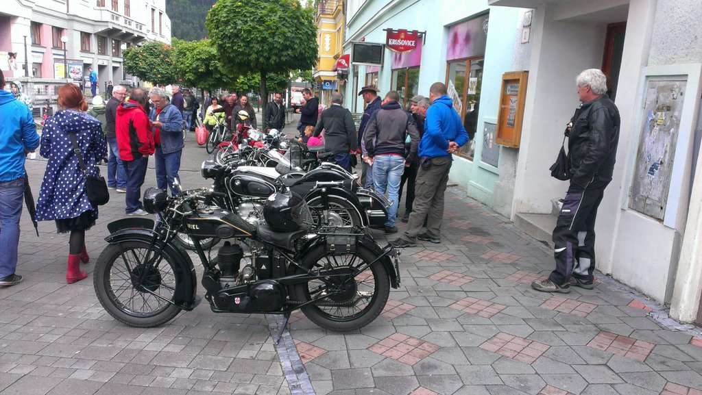Výstava motocyklov