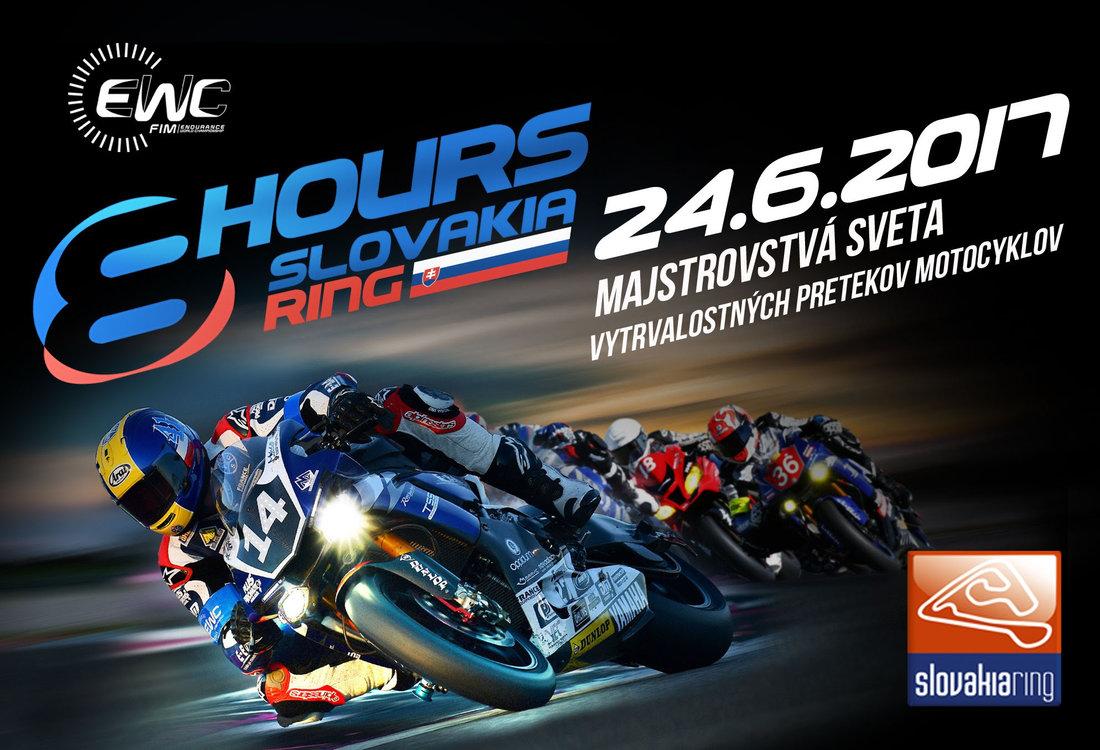 Pozvánka: majstrovstvá sveta vo vytrvalostných pretekoch motocyklov (EWC) Na Slovakia ringu už tento víkend!