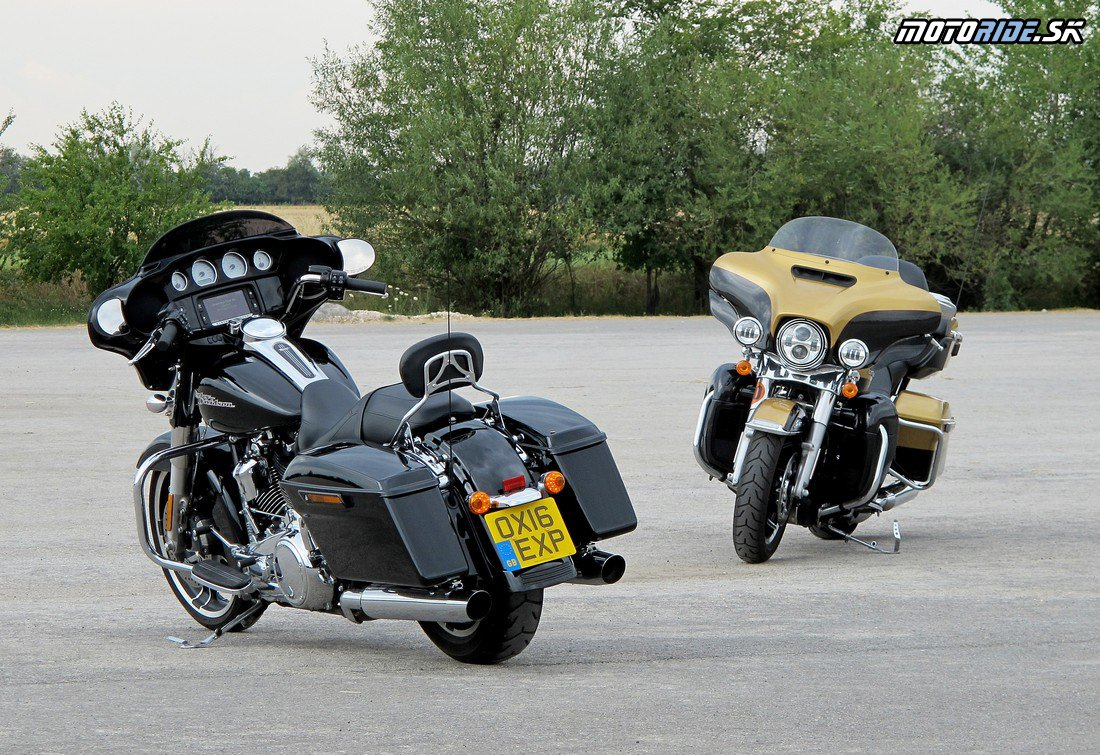 Street Glide Special a Electra Glide Ultra Limited