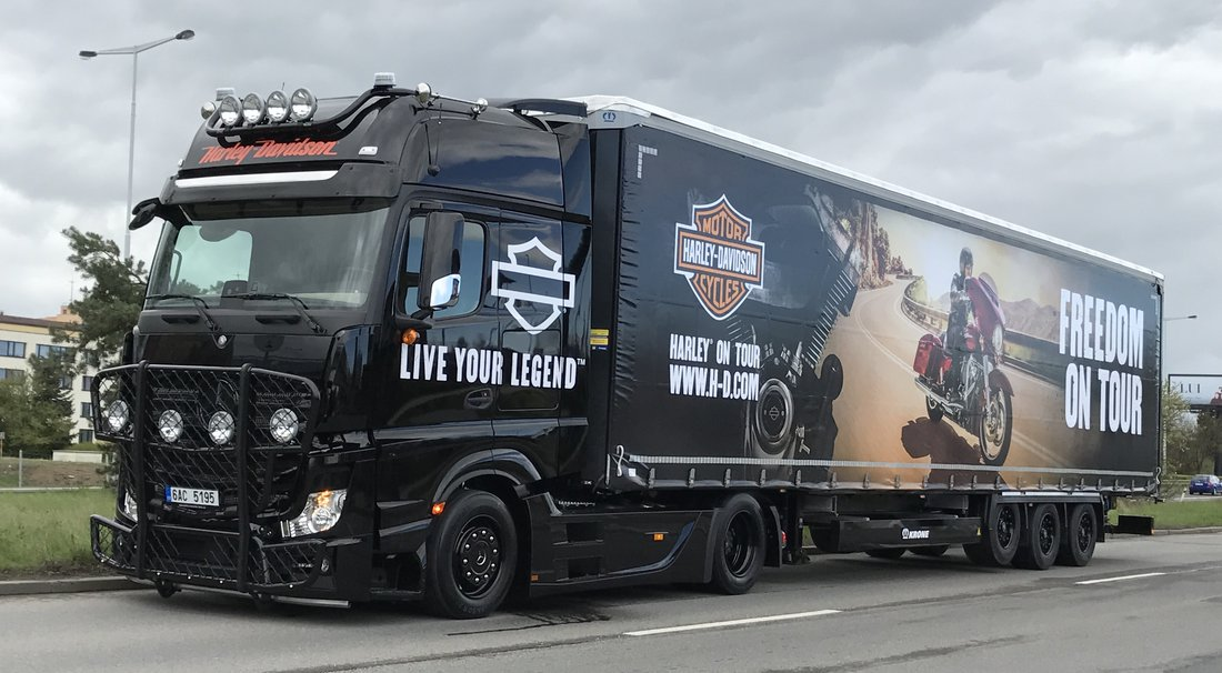 Harley demo truck už tento víkend v Banskej Bystrici
