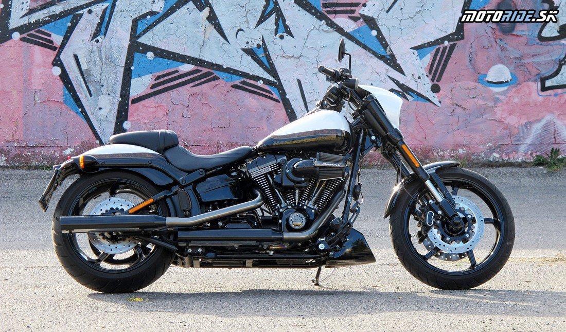 Rýchlovka s Harley-Davidson Pro Street Breakout CVO 2016
