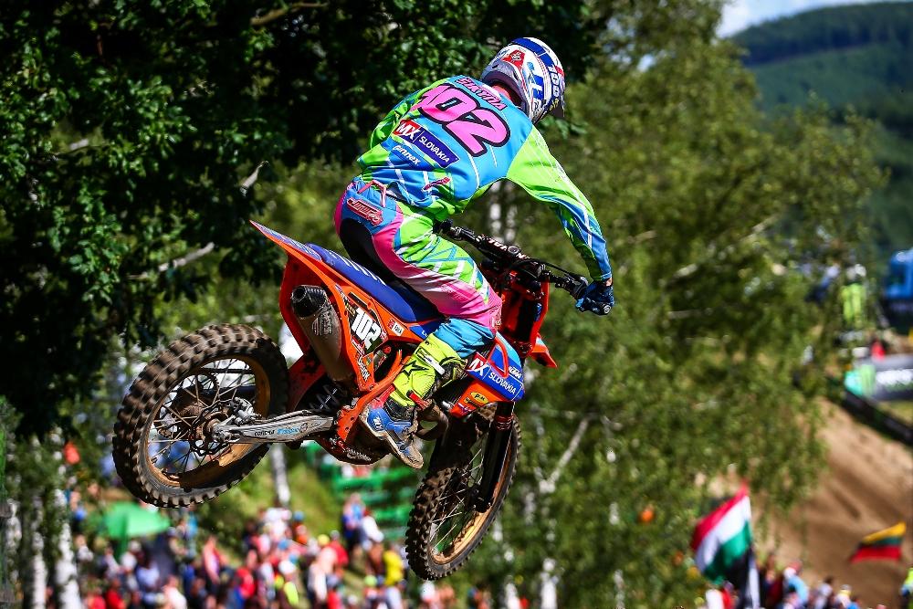 Šikyňa bodoval na majstrovstvách sveta v motokrose GP v Lokti