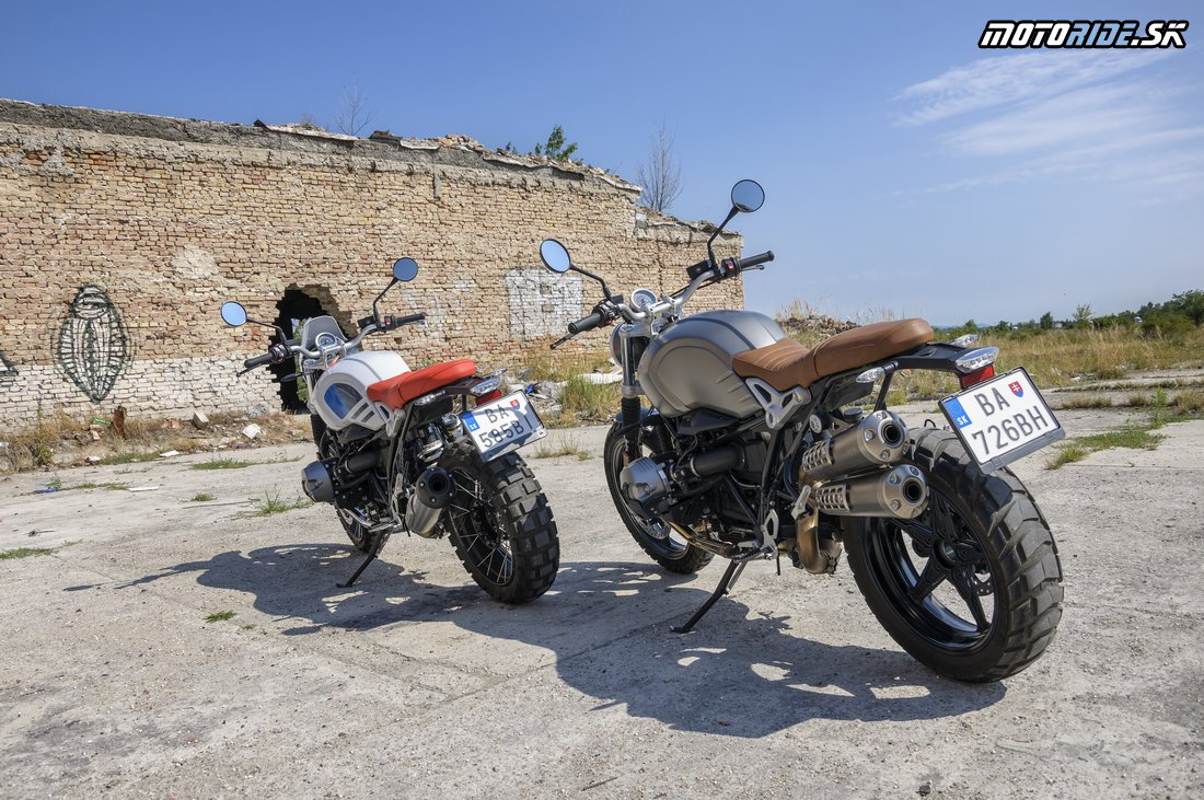 Dvojtest BMW R nineT Scrambler a R nineT Urban GS - bratia, ale rozdielni