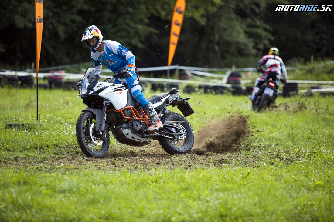 Akcelerácia - Enduro tréning s legendou: Chris Birch v Kopernici - KTM 1090/1290 Adventure R 2017