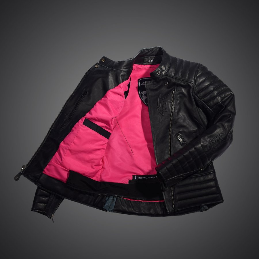 4SR dámska kožená bunda na motorku Cool Lady