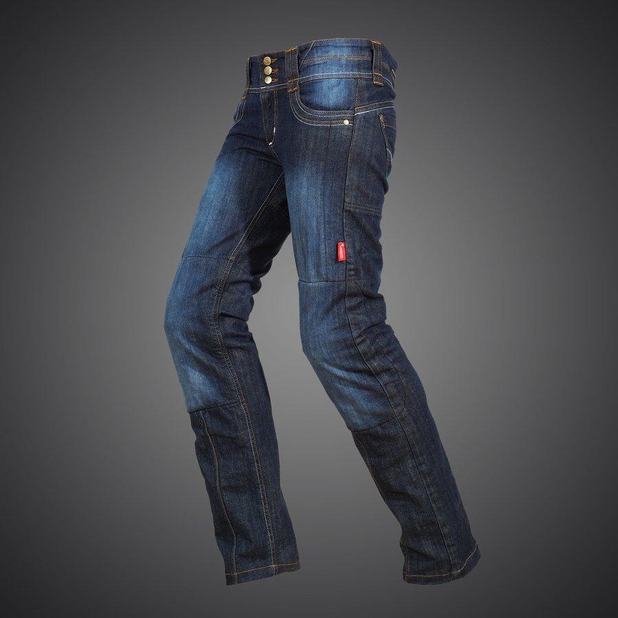 4SR dámske kevlarové moto džínsy Jeans Lady