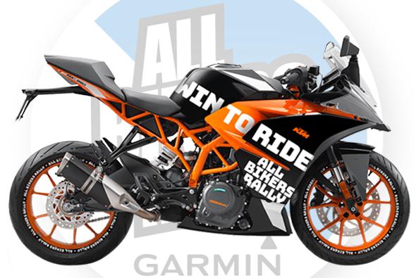 Hlavná výhra - KTM RC390