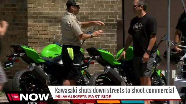 Príde väčšia malá Ninja? Kawasaki nakrúcala reklamu v USA