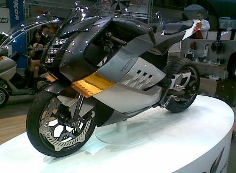 Miláno 2008 - Vectrix
