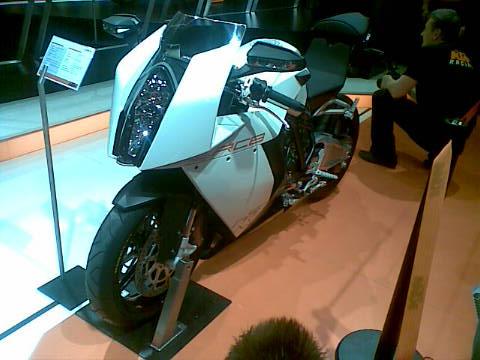 Miláno 2008 - KTM RC8