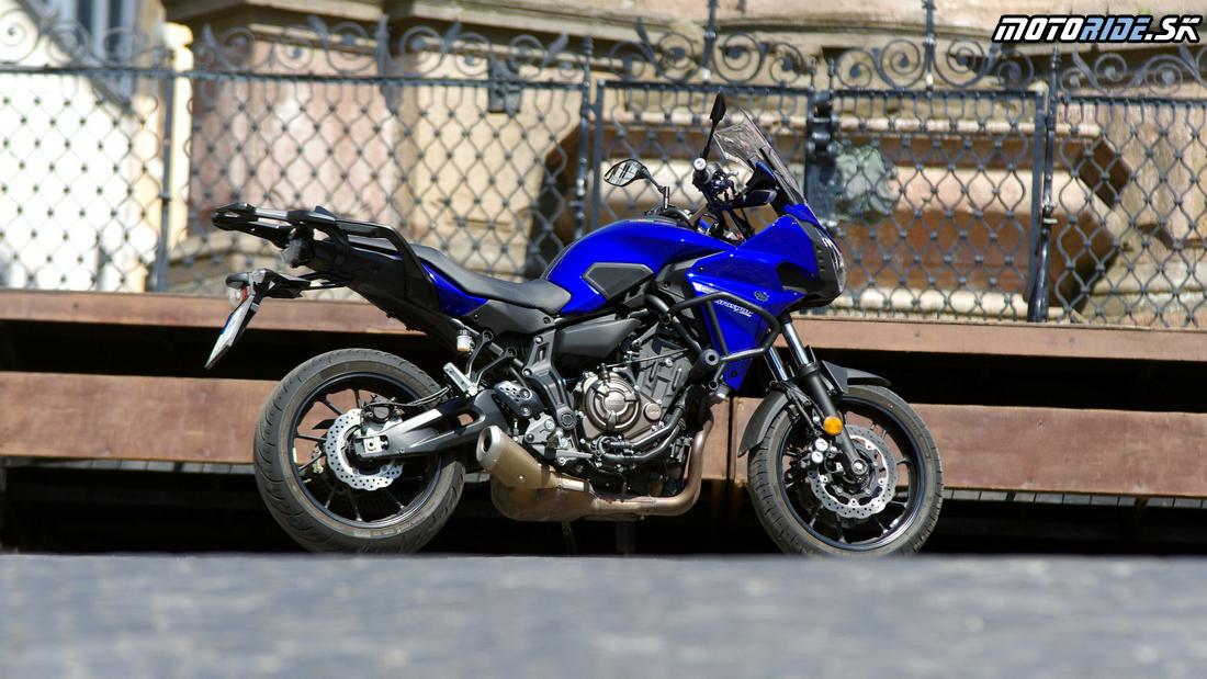 Skutočne zábavný športový turista - Yamaha Tracer 700