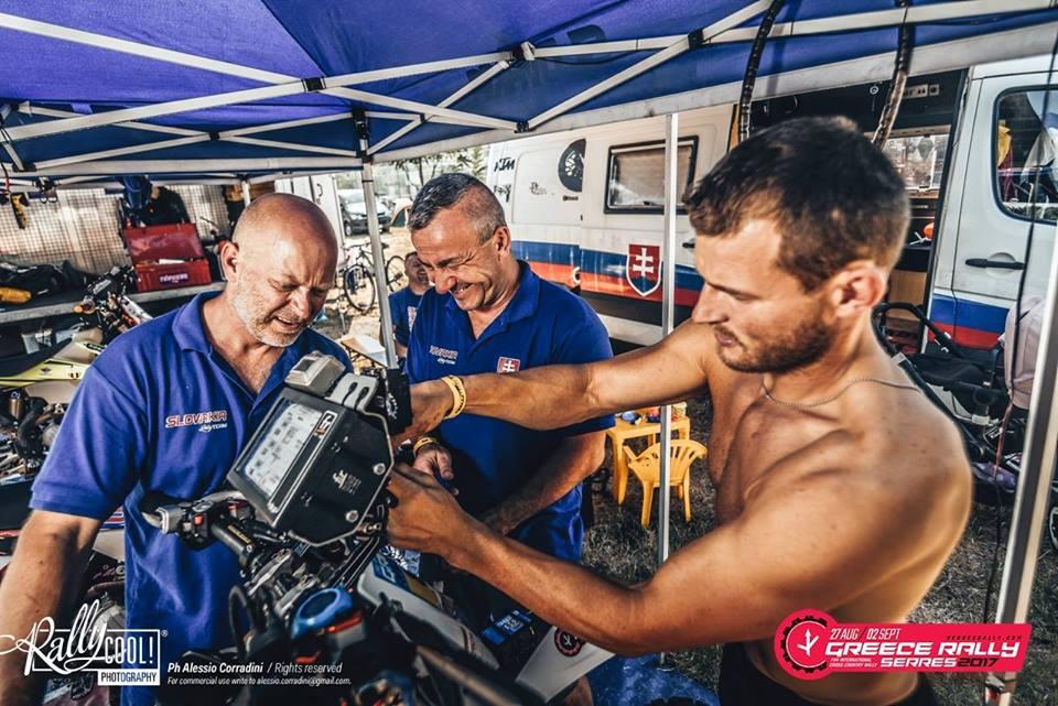 Grécka Serres Rally po štvrtom dni - Štefan Svitko jasný líder
