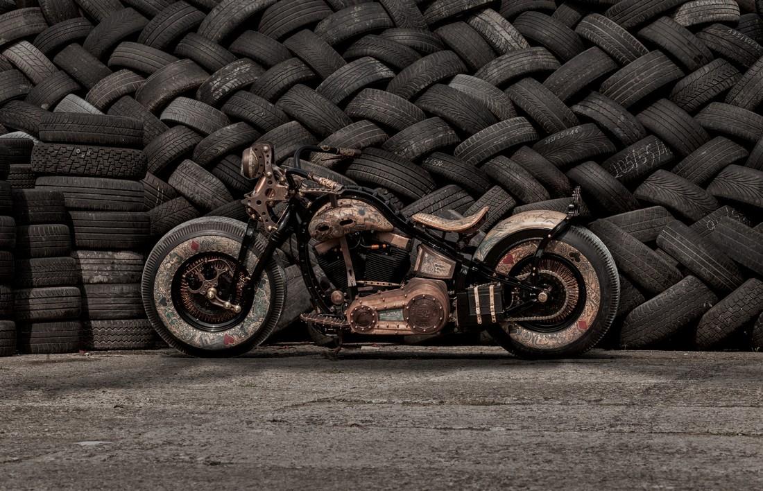 Nezvyčajnú stavbu The Recidivist od poľských Game Over Cycles ocenil aj samotný Harley-Davidson