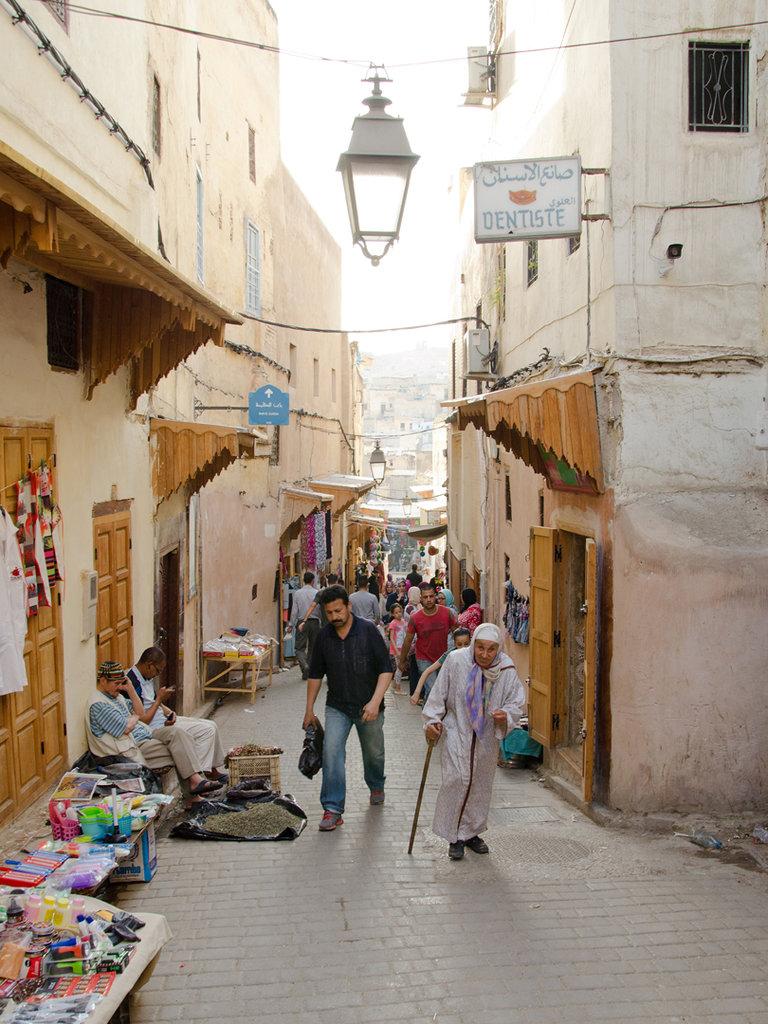 Medina v meste Féz
