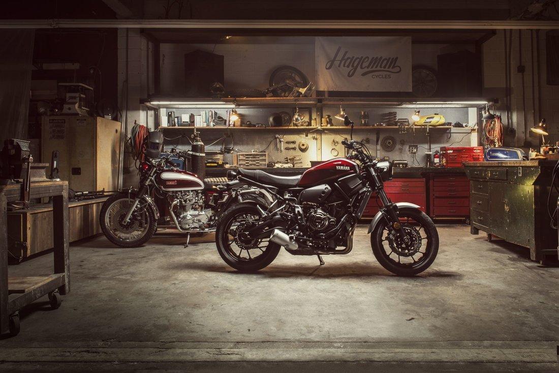 Yamaha XSR700 2018, Brilliant Red-53729